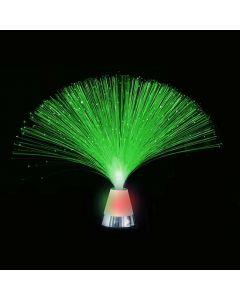 Licht decoratie - glasvezel lamp glitter basis