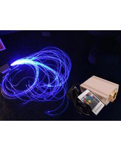 Fiber glow set - 16w lichtbron + 100 staarten 1,5m