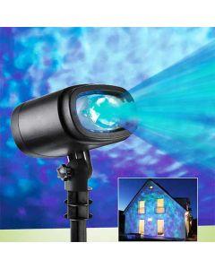 Licht decoratie - wolken en water LED projector