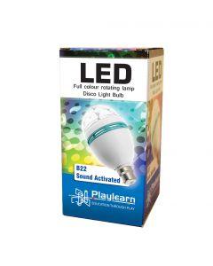 Licht decoratie - discobal schroeflamp met geluidsactivatie