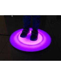Snoezel vloertegel - interactief, rond, 30 cm