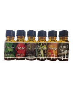 Aromatherapie - pack 1, Set van 6 aromas