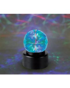 Licht decoratie - draaiende caleidoscopisch discobal